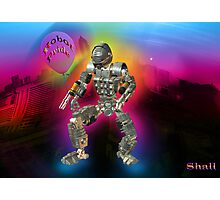 Robot Pride... Some Like '.Em Butch... Photographic Print
