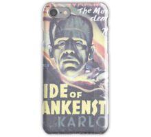 Boris Karloff Frankenstein iPhone Case/Skin