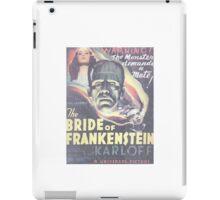 Boris Karloff Frankenstein iPad Case/Skin