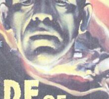 Boris Karloff Frankenstein Sticker