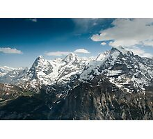 Eiger, Mönch and Jungfrau Photographic Print