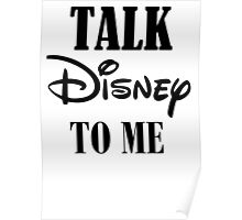 TALK TO ME Poster