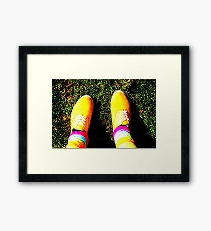 Shocking shirleys Framed Print