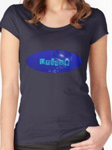 Unique Underwater Women's Fitted Scoop T-Shirt