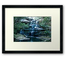 Tranquil Water Fall Framed Print