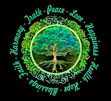 Positive Words by treeoflifeshop