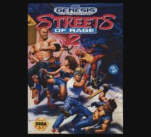 Streets Of rage 2 Genesis Megadrive Sega Box cover by ruter