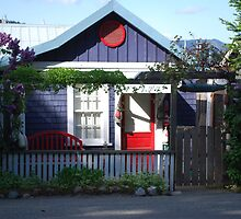 A Little Cottage on Cowichan Bay, B.C. by Carol Clifford