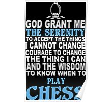 Chess Funny Tshirts Poster