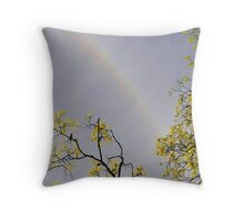 Sun Ring  Throw Pillow