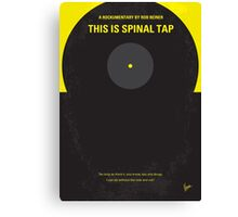 No143 My This Spinal Tap minimal movie poster Canvas Print