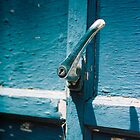 old garage handle by Alex Eldridge