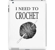 I need to Crochet iPad Case/Skin
