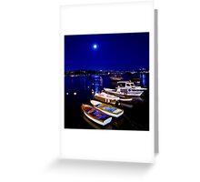 Istanbul Nights Greeting Card