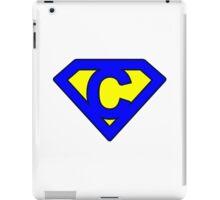 C letter iPad Case/Skin