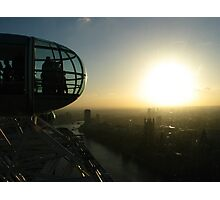 London Sun Photographic Print