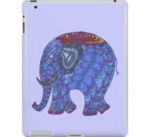 Colourful, patterned, doodle elephant iPad Case/Skin