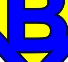 B letter Sticker