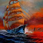 High Seas   ~ Not For Sale by NatureGreeting Cards ©ccwri