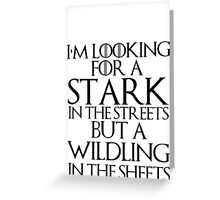 stark Greeting Card