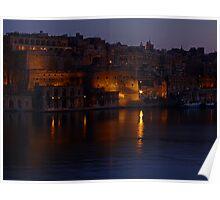 Valletta Reflections(2) Poster