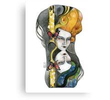 The Zodiac Series: Gemini Canvas Print