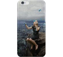 Climb to the top of the mountains........ iPhone Case/Skin