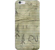 NO NO NO RUN iPhone Case/Skin