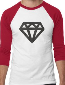 Black Diamond Men's Baseball ¾ T-Shirt