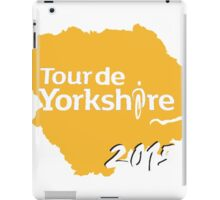 Tour de Yorkshire 2015 white iPad Case/Skin