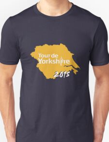 Tour de Yorkshire 2015 white Unisex T-Shirt