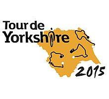 Tour de Yorkshire 2015 Route Photographic Print