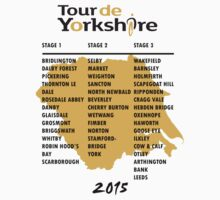Tour de Yorkshire 2015 Tour - On back by Andy Farr