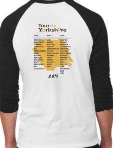 Tour de Yorkshire 2015 Tour - On back Men's Baseball ¾ T-Shirt