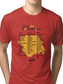 Tour de Yorkshire 2015 Tour Tri-blend T-Shirt