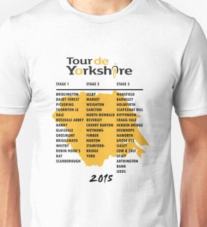Tour de Yorkshire 2015 Tour Unisex T-Shirt