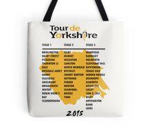 Tour de Yorkshire 2015 Tour Tote Bag