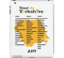 Tour de Yorkshire 2015 Tour iPad Case/Skin