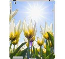 White Tulips iPad Case/Skin