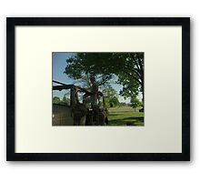 Dodge Weapons/Peronnel Carrier With 50 Cal. Machine Gun Framed Print
