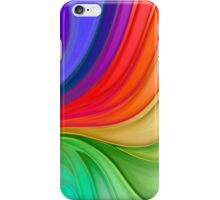 Abstract Rainbow Background iPhone Case/Skin