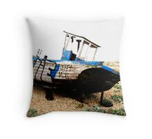 Dungeness Boat Throw Pillow