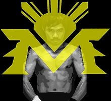 Manny Pacquiao boxing king by chiloy