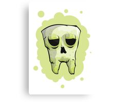 Skull Tooth Canvas Print