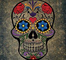 Skull Modern Art by Wonderful DreamPicture