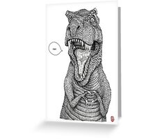 RAR. Greeting Card