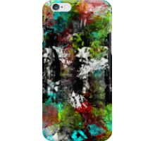 Abstract People in the Streets iPhone Case/Skin