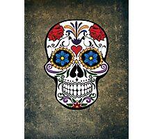 Skull Modern Art Photographic Print