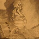 skeleton still life  by MaGGdiZZle