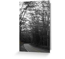 Around the bend... Greeting Card